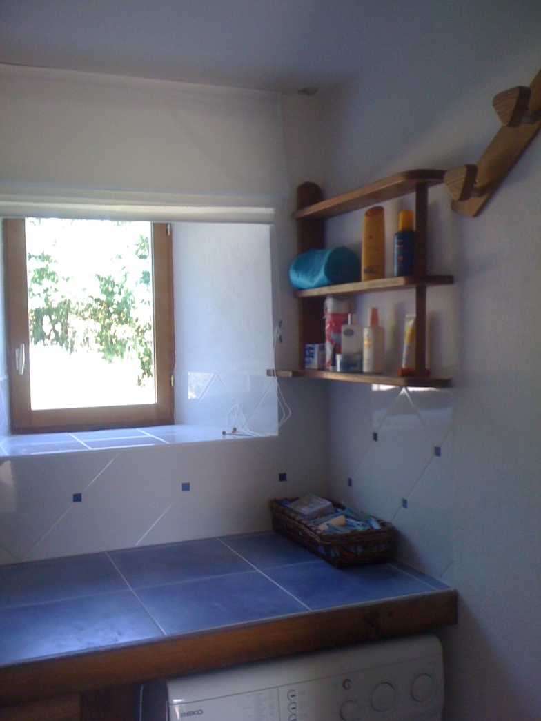 The interior made good and re-tiled.