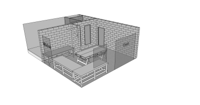 Proposed workshop in existing barn