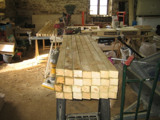 Rafters For The Roof