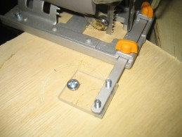 A simple attachment provides a pivot point.