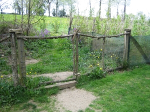 Old double gates