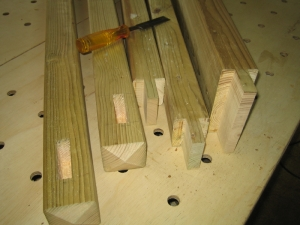 And some tenons.